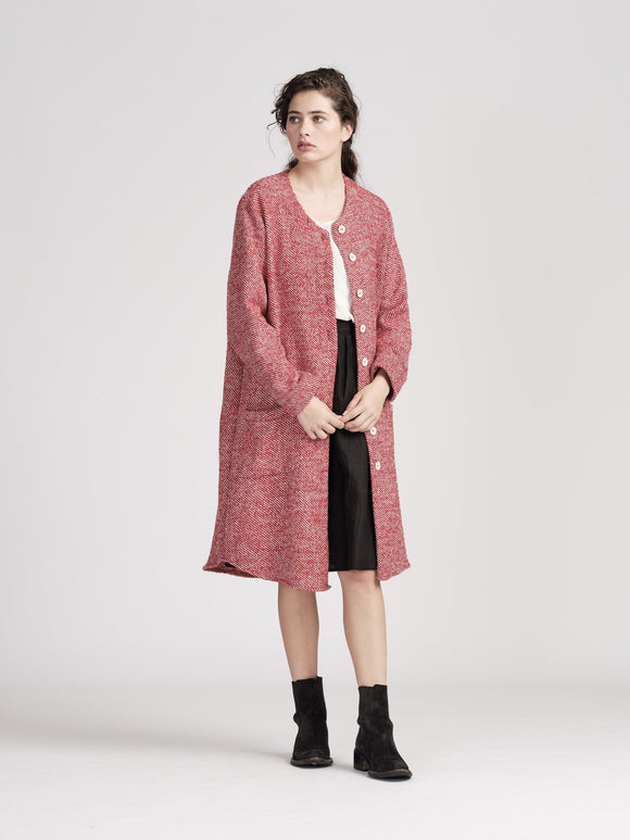 Widdess Hope Coat - Fernleigh