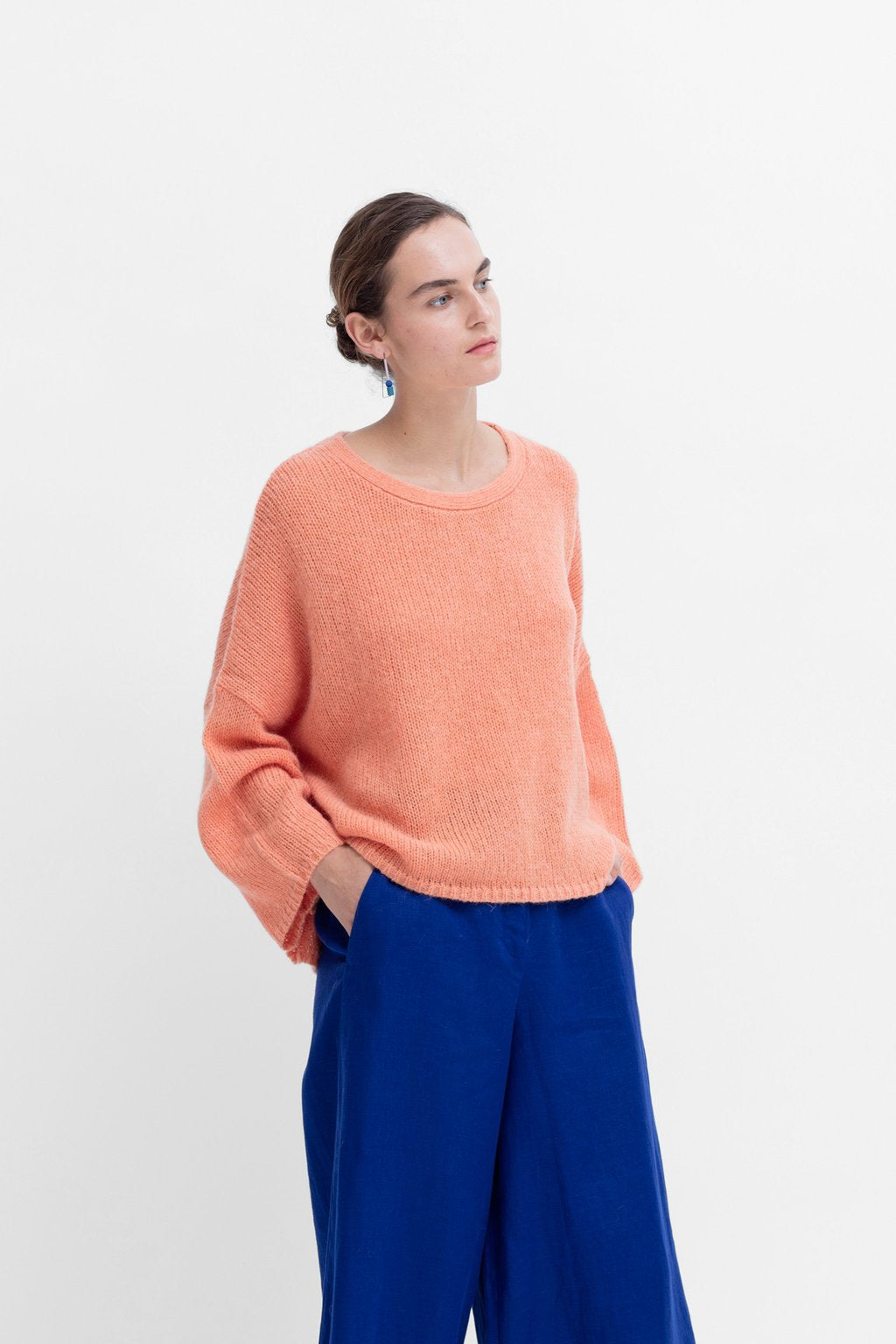 Elk Agna Sweater - Peach