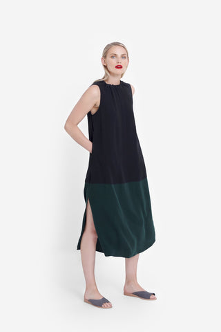 Elk Molger Dress - Black/Forest
