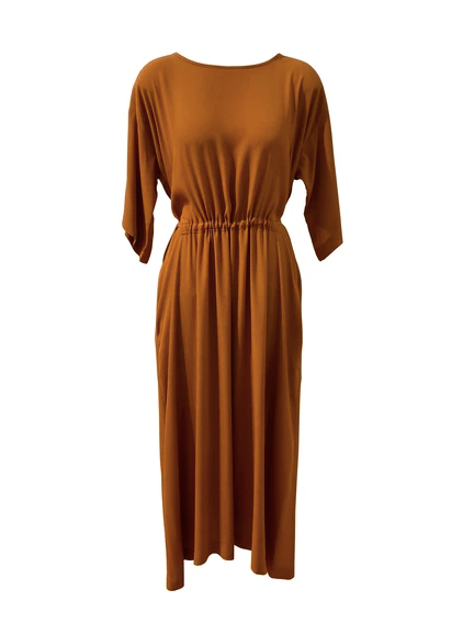 Staple + Cloth Meryl Dress - Toffee
