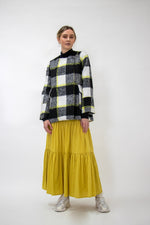 Load image into Gallery viewer, Staple + Cloth Teresa Skirt - Chartruese