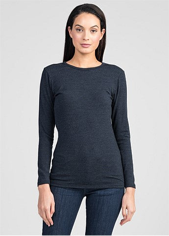 Untouched World Round Neck - Dark Navy