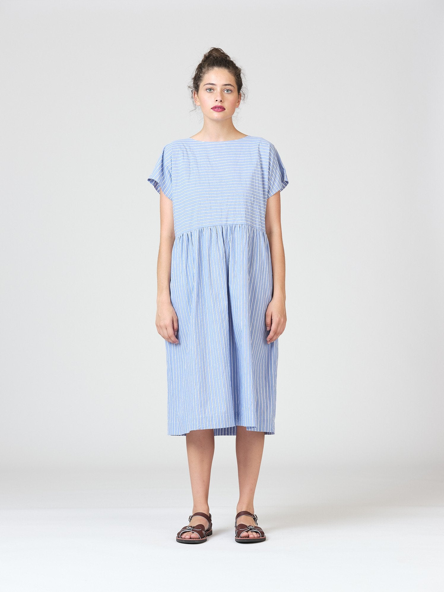 Widdess Captain Dress - Paris