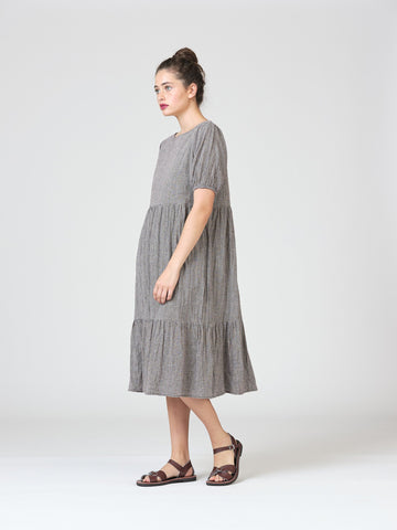 Widdess Laura Dress - Sparrow