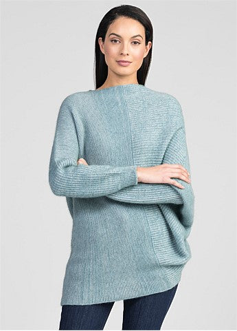 Untouched World Hygge Sweater - Serene/Light Silver