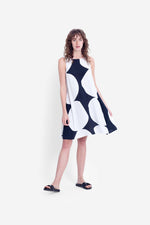 Load image into Gallery viewer, Elk Kalla Tank Dress - Black/White
