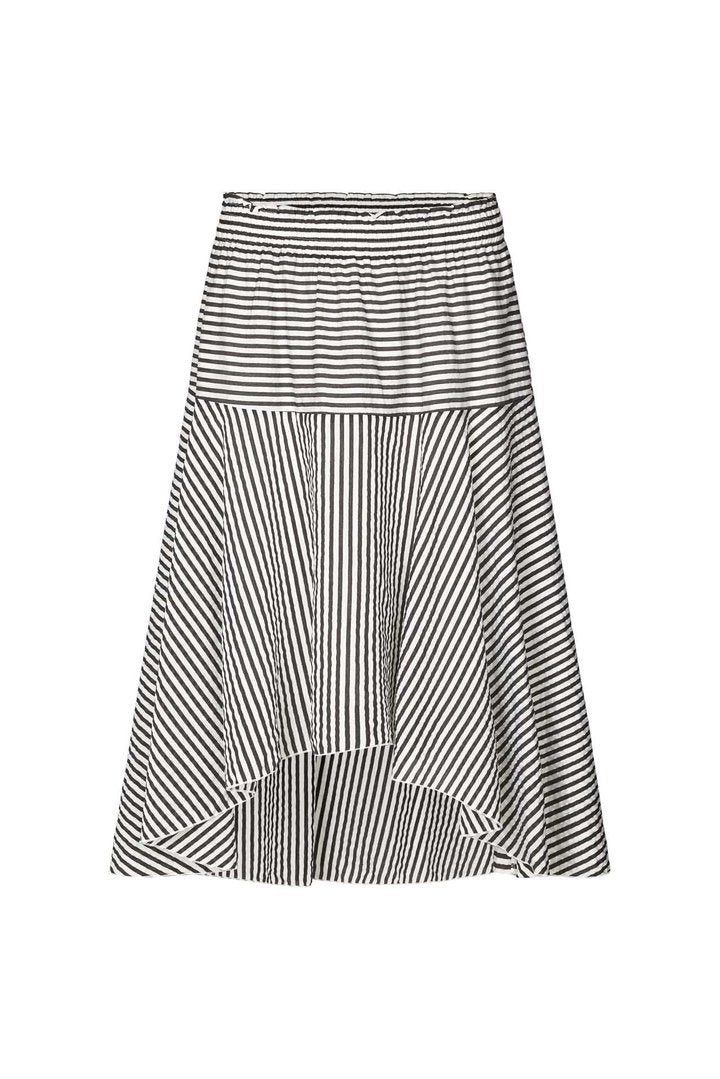 Lollys Laundry Bali Skirt - Black & White Stripe
