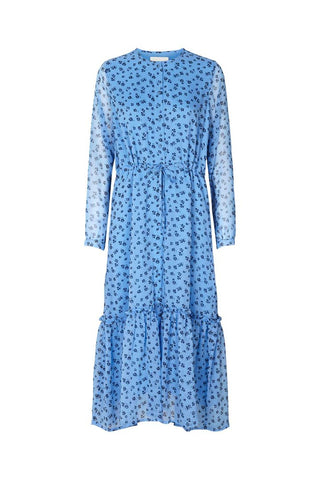 Lollys Laundry Anastacia Dress - Blue Flower