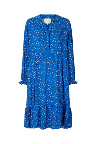 Lollys Laundry Audrey Dress - Blue Floral