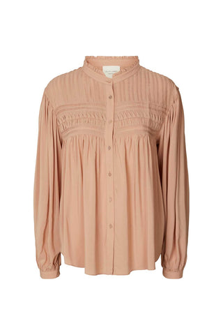 Lollys Laundry Cara Blouse - Dusty Rose