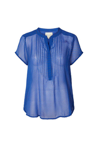 Lollys Laundry Heather Top - Blue