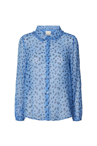Lollys Laundry Julie Shirt - Blue Flower