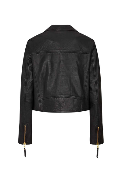 Lollys Laundry Madison Jacket - Black & Gold