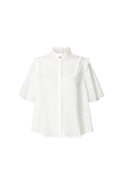 Lollys Laundry Maria Top - White