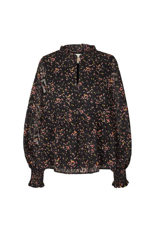 Lollys Laundry Maya Blouse - Flower Print