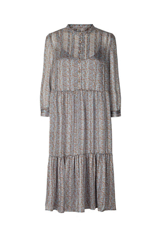 Lollys Laundry Naja Dress - Dusty Blue