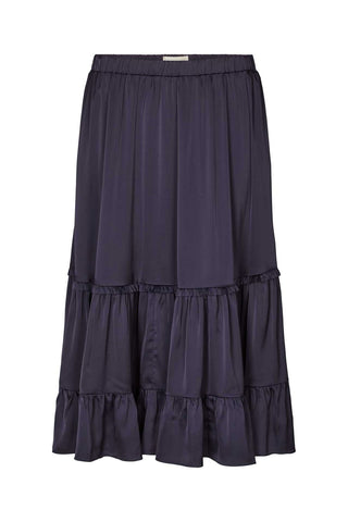 Lollys Laundry Sana Skirt - Dark Navy