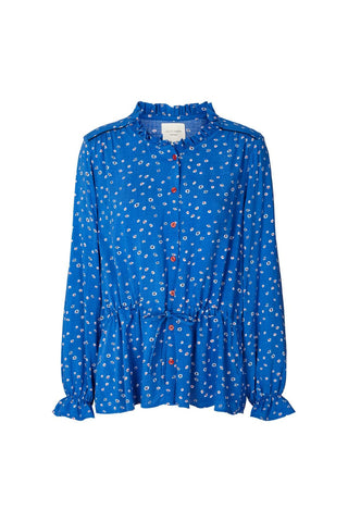 Lollys Laundry Sophie Shirt - Blue Floral