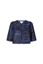 Load image into Gallery viewer, Lollys Laundry Trine Jacket - Dark Blue