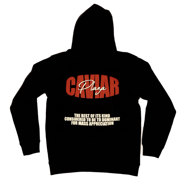 "Caviar Plaza FW20 ""Best of the Best"" Hoody, Black"