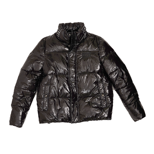 Caviar Plaza FW20 Truewings Puffer Coat, Black