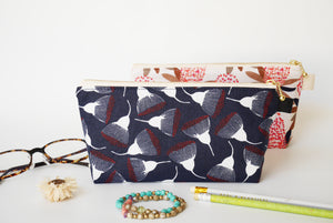 zipper makeup pouch