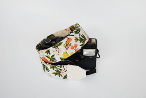 Camera strap Australia, Floral camera strap, Rifle paper co.neck strap