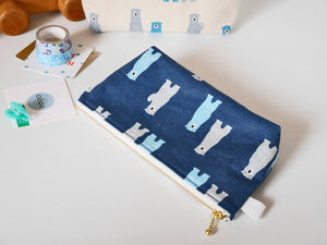canvas zipper pouch