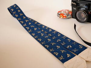 Camera shoulder strap, cool dslr strap, Japanese print