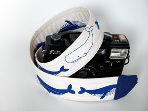 White camera neck strap, SLR DSLR camera strap, photographer gift