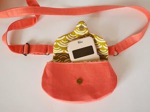 Crossbody cat purse, gift for cat lady