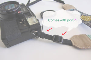 Green mirrorless camera strap, gift for photographer, Nikon strap