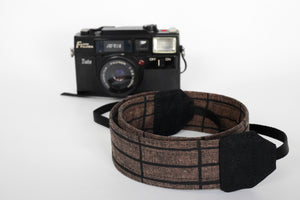 DSLR camera neck strap, for men, Balboa fabric