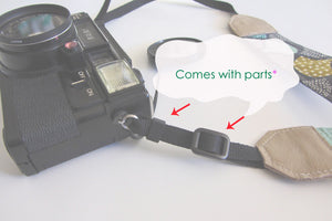 Cute camera strap, camera neck strap,  canon camera strap, cat lover