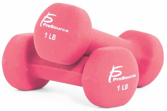 1 Pound Neoprene Dumbells-Pair