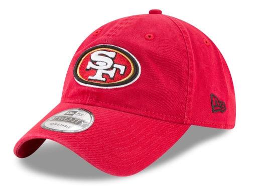 New Era 49ers Adjustable Hat-Red