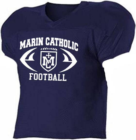 Marin Catholic Football Practice Jersey