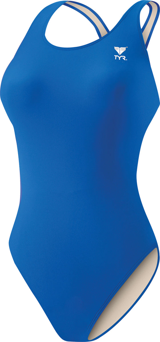 TYR Youth Girl's Maxback Swimsuit