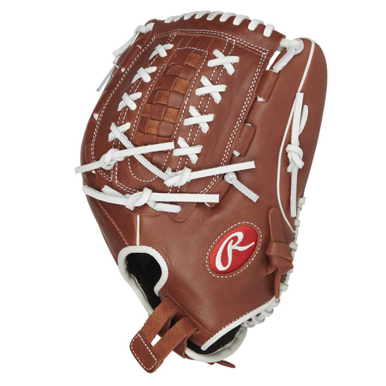 "RAWLINGS R9 SERIES FASTPITCH SOFTBALL GLOVE 12.5"" R9SB125-18DB"