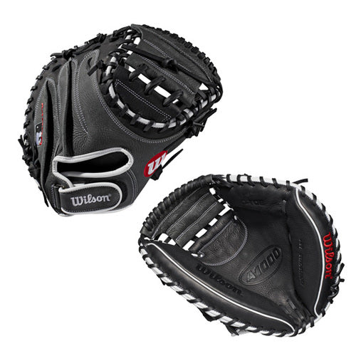 "Wilson A1000 33"" Baseball Catcher's Mitt"