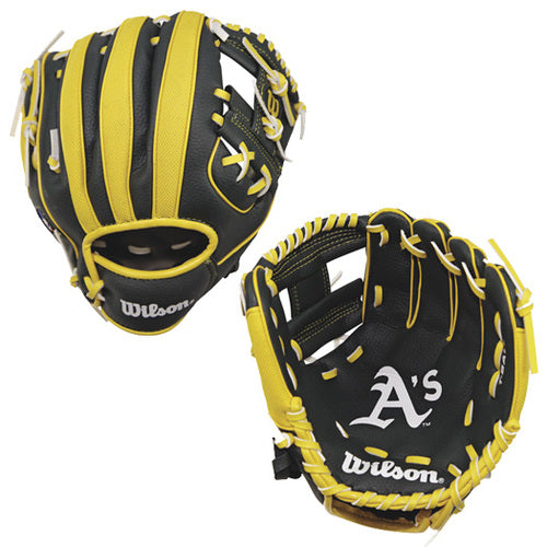 "Wilson A200 A's 10"" Youth Baseball Glove"