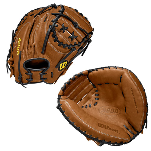 "Wilson A900 34"" Baseball Catcher's Mitt"