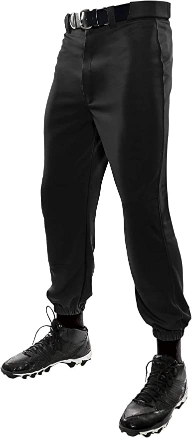 Tag Youth Cinched Bottom Baseball Pants-Black