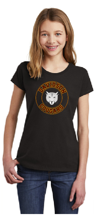 Davidson Middle School Spirit Wear Girl's T-Shirt