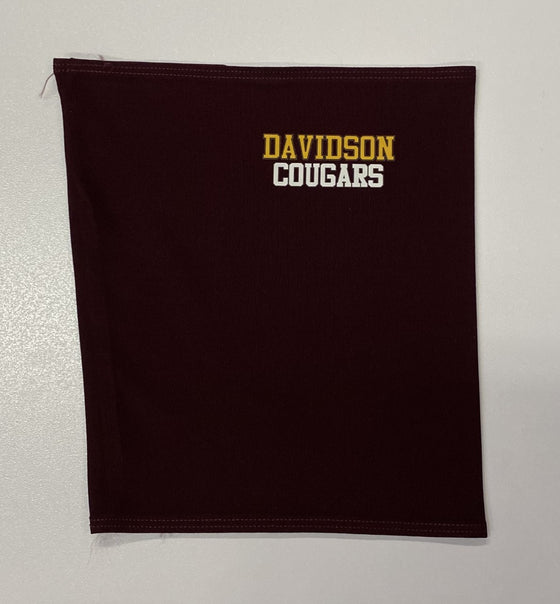 Davidson Middle School Gaiter Mask