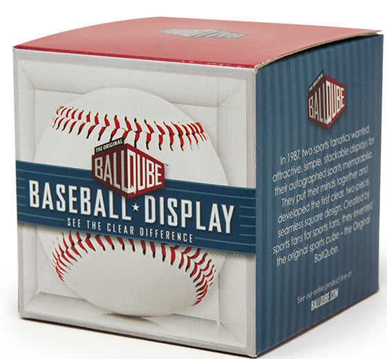 Baseball Display Cube