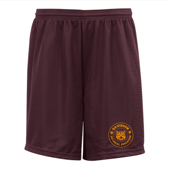 Davidson Middle School P.E. Shorts