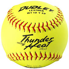 "Dudley NFHS Thunder Heat 12"" Fastpitch Softball"