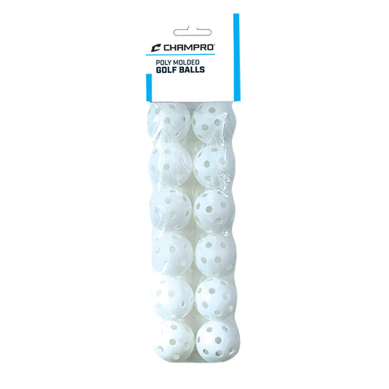 Champro Golf Whiffle Ball 12-Pack