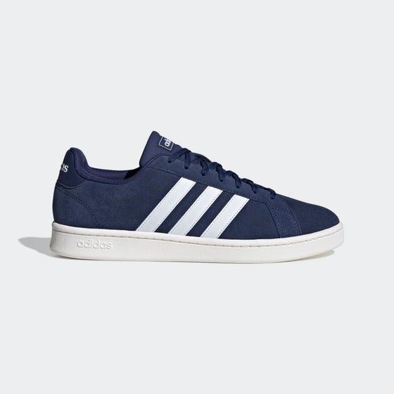Adidas Adult Grand Court Shoes-Navy